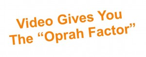Oprah factor with video