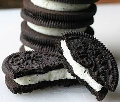 oreos (borrowed from Wikipedia)